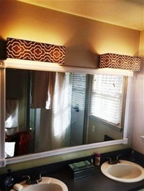 bathroom vanity light covers cover ugly hollywood lights bathroom diy home
