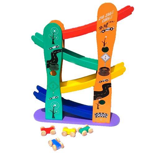 Mainan Puzzle 3d Terbuat Dari Kayu Castle mobil zig zag mainan kayu