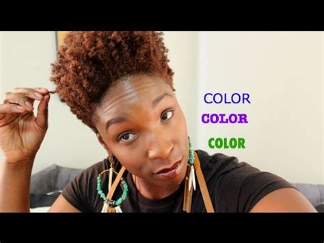 type 4 hair dyt hair color vlog pros cons my experience type 4 hair
