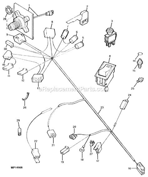 Service Manual For John Deere Lx 188 Wiring Diagram In