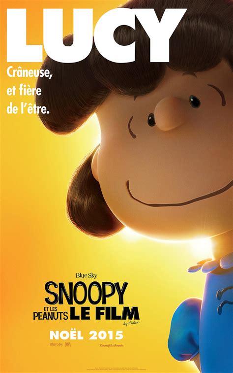film lucy affiche snoopy et les peanuts le film bande annonce popmovies