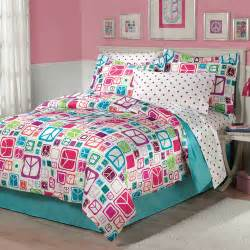 my room peace out bed in a bag bedding set walmart