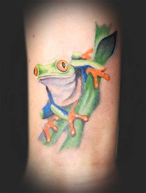 tree frog tattoo designs eyed tree frog by chad newsom tattoonow