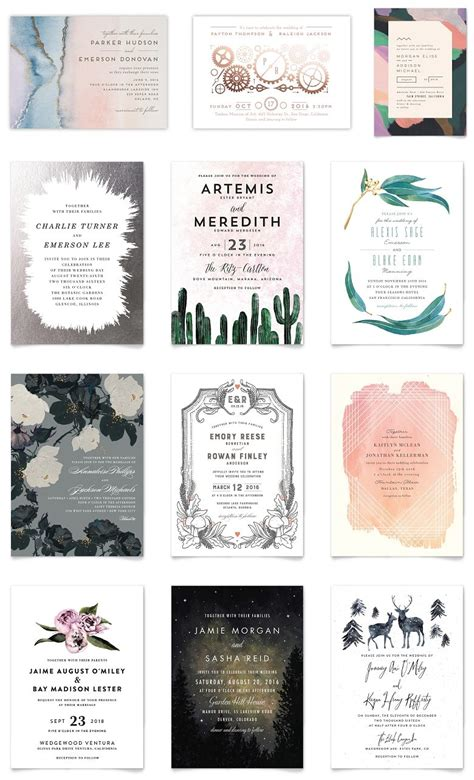 Wedding Invitations Minted by 30 New Invitation Designs From Minted That You Will