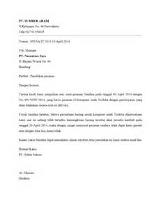 contoh surat penolakan penawaran motorcycle review and