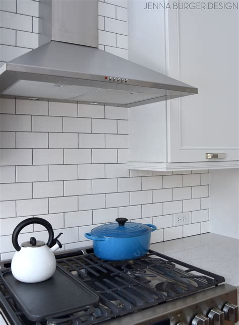what size subway tile for kitchen backsplash subway tile kitchen backsplash installation burger