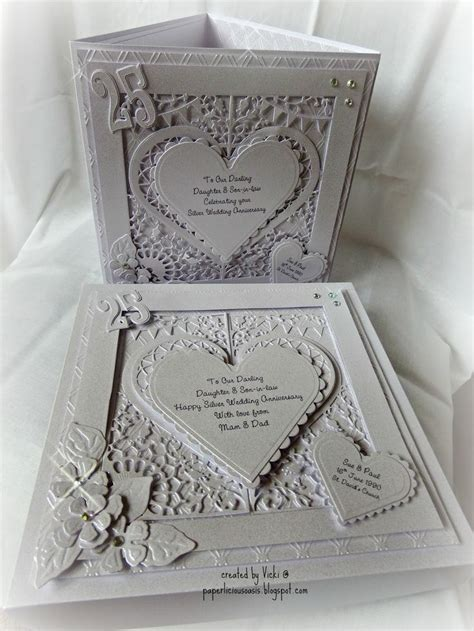 Handmade 25th Anniversary Cards - 17 best images about handmade anniversary cards on