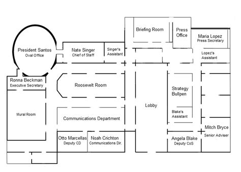 white house floor plans west wing the white house floor plan west wing thefloors co