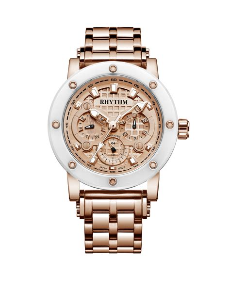 rhythm i1204r01 rhythm global timepiece