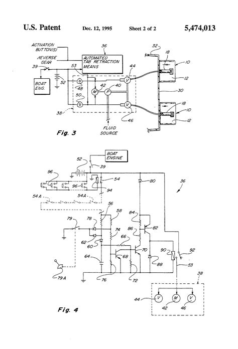 patent  trim tab auto retract  multiple switching device google patents