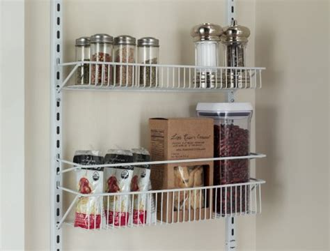 Adjustable Pantry Door Rack by Adjustable 18 Quot Closet Organizer 8 Tier Wall And The