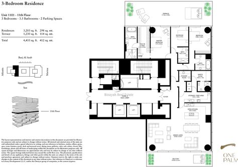 one floor plan one palm 4 bedroom duplex floor plan 1