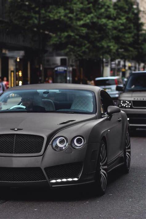 matte black bentley matte black bentley continental fast cars