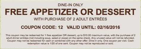 olive garden coupons march 2016 olive garden free appetizer 2016 coupon through february