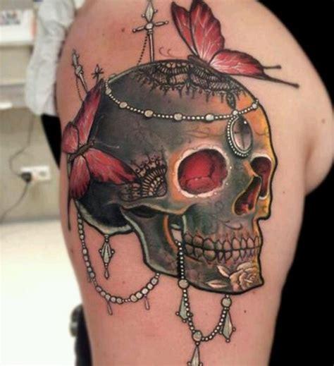 tattoo butterfly and skull 32 stunning skull tattoo designs