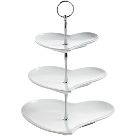 etagere nachtmann maxwell williams white basics 3 tier cake stand gb