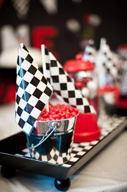 Racing Decorations Race Car Birthday Crafts