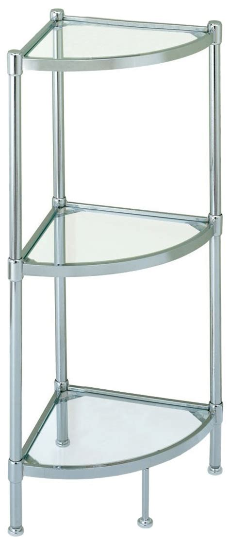 corner glass shelves for bathroom review of glass based bathroom corner shelves