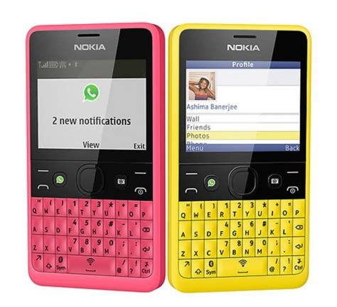 mobile nokia asha nokia launches asha 210 a whatsapp special phone