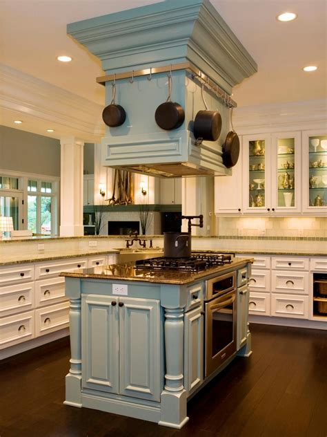 kitchen island hoods stylish kitchen hood treatments hgtv
