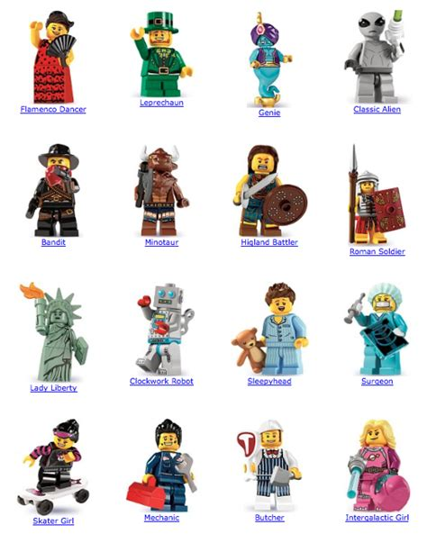 Diskon Lego Classic Series 6 minifigure feature lego series 6 a musing