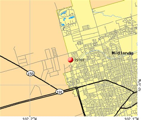 midland texas map 79707 zip code midland texas profile homes apartments schools population income