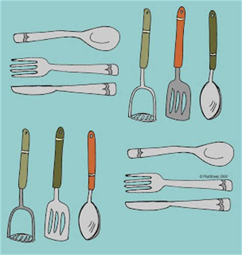 Drawing Utensils by How To Draw Kitchen Utensils