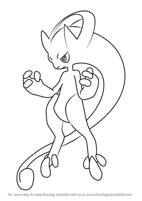 pokemon coloring pages mega mewtwo pokemon mega mewtwo coloring pages images pokemon images