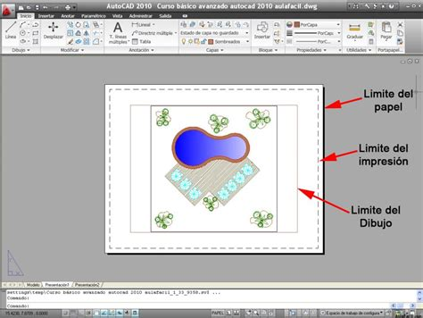 que es modelo y layout en autocad curso gratis de autocad avanzado 2010 espacio modelo y