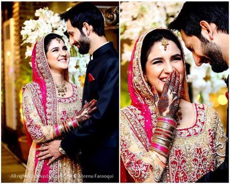Tunik Faiza anoushay abbasi s baraat pictures reviewit pk