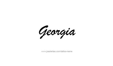 georgia tattoo tattoo collections