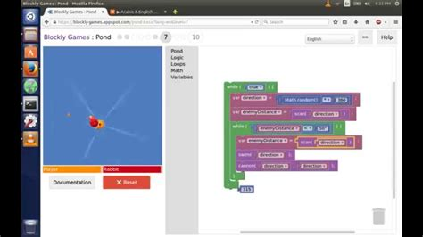 coding level 6 solution programming with blockly duck battle
