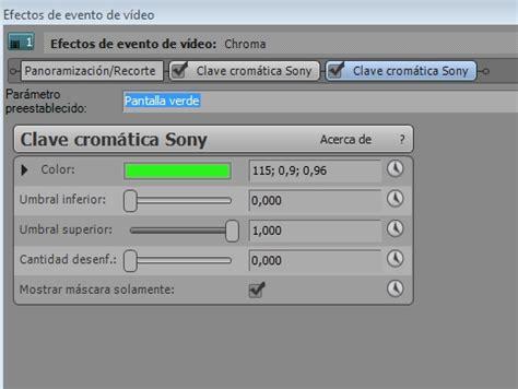 tutorial sony vegas chroma key tutorial sony vegas chroma key taringa