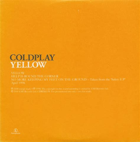 coldplay yellow video coldplay yellow cd at discogs