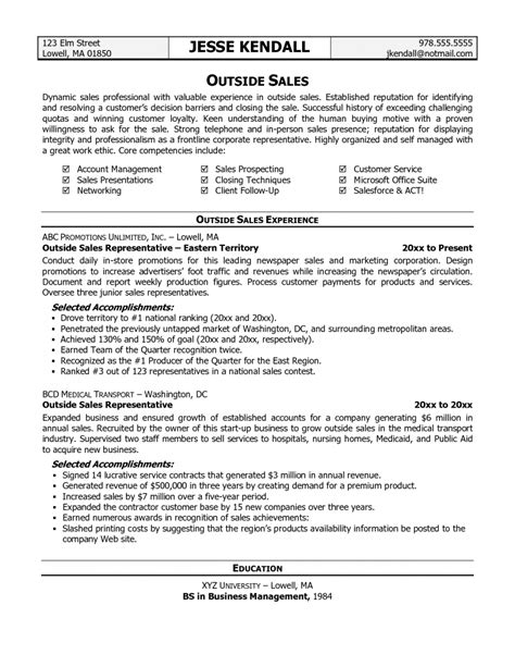 valuable sales manager profile sample sales resume example sales