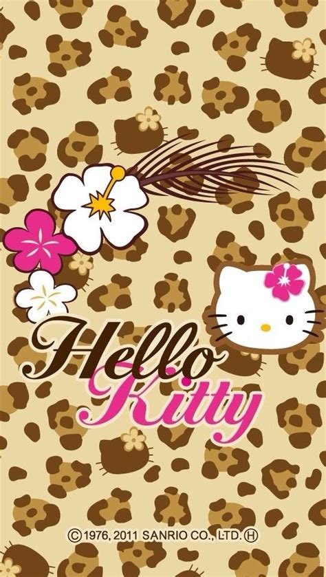 imagenes hello kitty leopardo 1000 images about wallpapers on pinterest hello kitty
