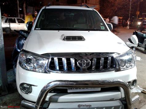 Lu Strobo Grill Depan Fortuner pics of and wacky mod page 952 team bhp
