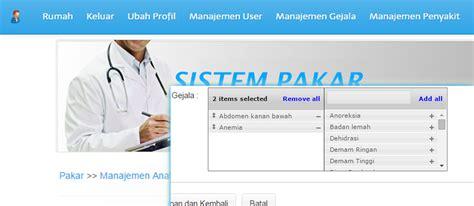 desain database sistem pakar sistem pakar menggunakan codeigniter nocms page 2