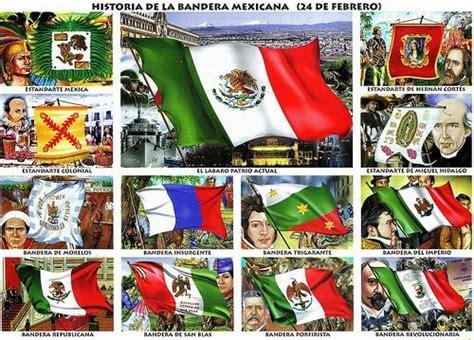 imagenes de las banderas historicas de mexico historia de la bandera de mexico