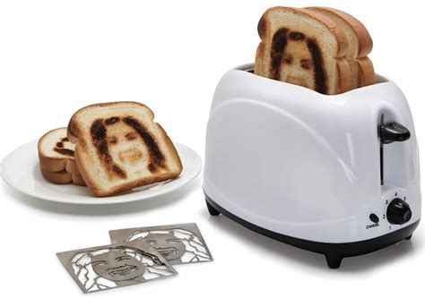 Best Bread Toaster 2015 Selfie Toaster Puts Your On Toast Craziest Gadgets