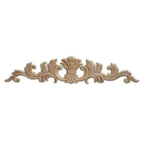 decorative moulding home depot ornamental mouldings embossed acanthus wood ornament 3 1