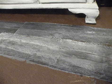 How To Make Concrete Floors Look Like Wood by Living Room Floor Done Twentysixfiftyeight