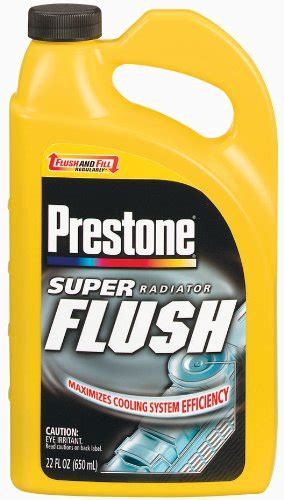 Prestone Radiator Flush Cleaner 2in1 Light Flushing And Heavy Duty galleon bar s leaks 1111 gasket fix 24 oz