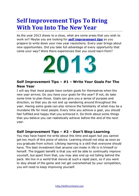 new year what to bring self improvement tips to bring with you into the new year