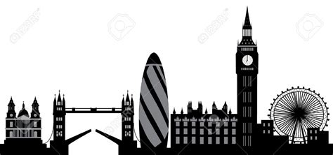 New York City Wall Sticker london skyline stock illustrations cliparts and royalty