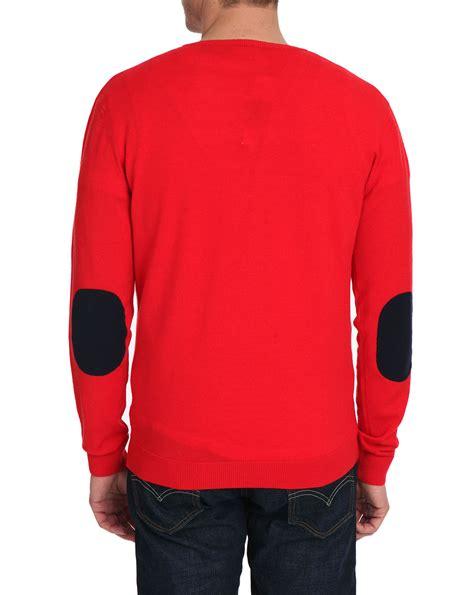 Gw V Neck Elboe Pth Lis Blouse briggs orange sweater sweater