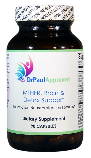 Dr Pauls Detox Bolus by Drpaulapproved Mthfr Brain Detox Support