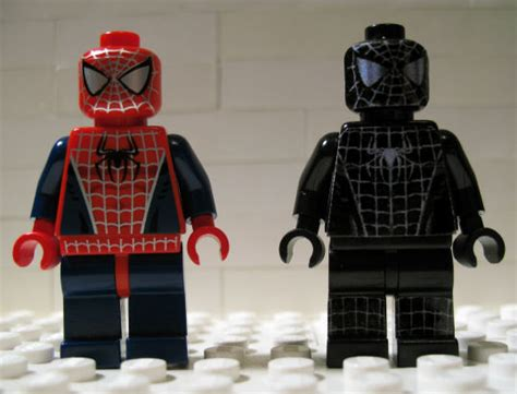 Custom Spiderman1 the gallery for gt black spider lego