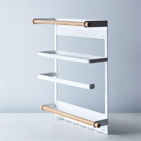 Refrigerator Racks by Steel Wood Magnetic Refrigerator Rack On Food52