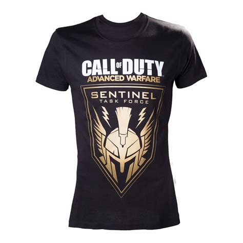 T Shirt Kaos Call Of Duty Sentinel Task 0903 Dear Aysha Call Of Duty Advanced Warfare Sentinel Task Medium T